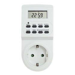 Digital Socket Timer Daily / Weekly TGE-2A TOP ELECTRONIC