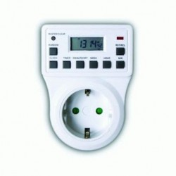 Digital Socket Timer Daily / Weekly TGE-3A TOP ELECTRONIC