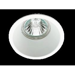Recessed Downlights In White 1xGU10 Ø83 Round Rob VIOKEF