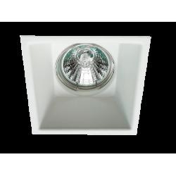 Recessed Downlights In White 1xGU10 83x83 Square Rob VIOKEF