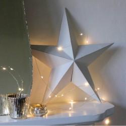 Φωτάκια Χαλκού 50 LED 5m Με Μπαταρίες -  Θερμό Λευκό DECOLIGHT