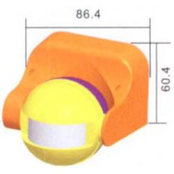 Αισθητήρας Κίνησης 180° 1200W/230VAC ΛΕΥΚΟΣ ST09 SLX TOP ELECTRONIC