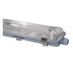 Στεγανό Φωτιστικό Τ8 120cm Για 2 Λάμπες LED Aca Lighting