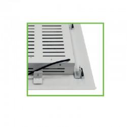 LED Φωτιστικό Βενζινάδικου Χωνευτό 120W IP66 90° 50x50cm PETRON Aca
