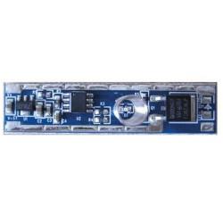 On-Off Μπουτόν Αφής Με 4 Βαθμίδες Dimming Για Μονόχρωμη Ταινία LED 12V/24V DC 10A 120W/240W Aca