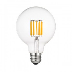 Led Lamp Filament G95 Ε27 10W 2700K - 4000Κ - 6500K 230V/Ac Diolamp