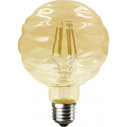 Λάμπα Led Filament Waft Σε Μελί Γυαλί Ε27 6W 690lm 2700K 230V/Ac Ντιμαριζόμενη Diolamp