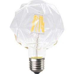 Λάμπα Led Filament Lilac Διάφανη Ε27 6W 690lm 2700K 230V/Ac Ντιμαριζόμενη Diolamp