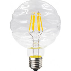 Λάμπα Led Filament Waft Διάφανη Ε27 6W 690lm 2700K 230V/Ac Ντιμαριζόμενη Diolamp