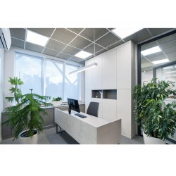 Slim Panel White Square LED SMD 48W 120° UGR OXO Aca