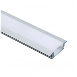 Aluminum Profile With Opal Diffuser MINI P108 ACA