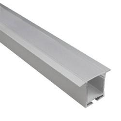 Aluminium Profile With Semi Clear Diffuser SPRING P31 ACA