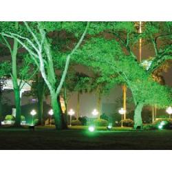 LED Floodlight SMD 10W Aluminium Body With Green Light  10W 230V AC ACA