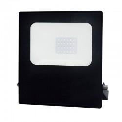 LED Προβολέας Σε Μαύρο Χρώμα 20W RGBW 110° Aca