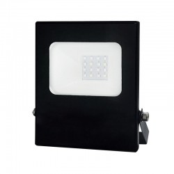 LED Προβολέας Σε Μαύρο Χρώμα 10W RGBW 110° Aca