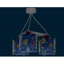 Planets Ceiling Multi Lights 3x E27 Ango