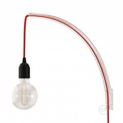 Archet(To) , Διαφανής Βάση Τοίχου Ιδανική Για Κρεμαστά Φωτιστικά Creative Cables