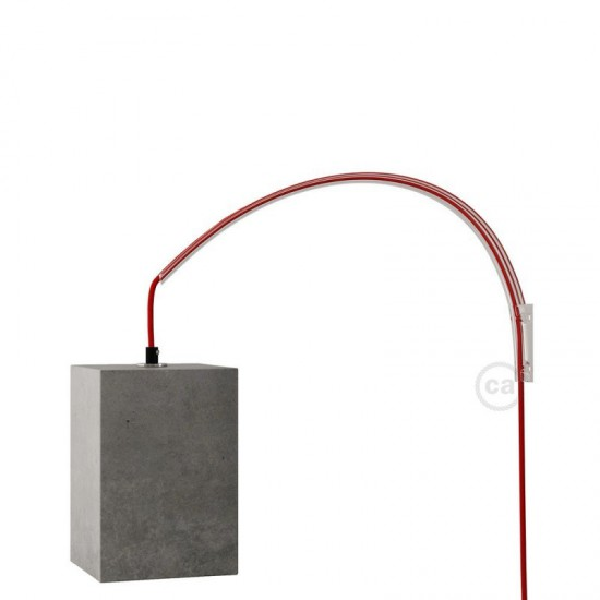 Archet(To) , Transparent Wall Mount Ideal For Hanging Lights Creative Cables