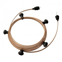 Garland Ready For Use, 7,5m 5-sided, 5-socket, Creative Cables