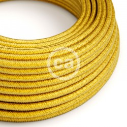Round Cloth Cable - RM31 Yellow Lemon Creative Cables