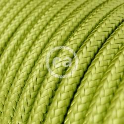 Στρόγγυλο Υφασμάτινο Καλώδιο - RM32 Λαχανί Kiwi Creative Cables