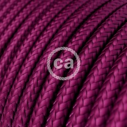 Round Cloth Cable - RM35 Intense Purple Violet Creative Cables