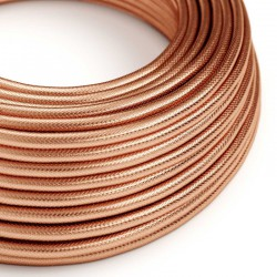 Round Fabric Cable 100% Bronze Creative Cables