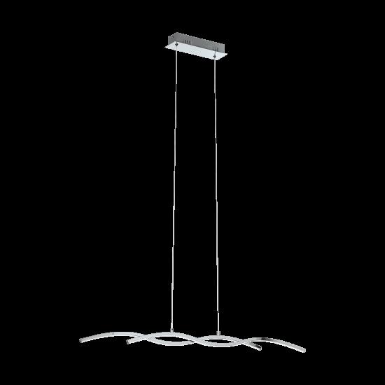 LED Ceiling Light Aluminum 870mm 2x 9W 3000K LASANA 2 Eglo