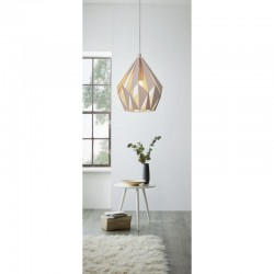 Ceiling Light Metalic In Two Pastel Colors 1x E27 60W CARLTON-P Eglo