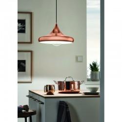 Ceiling Light In Copper Steel Ø40cm 1x E27 60W CORETTO 2 Eglo