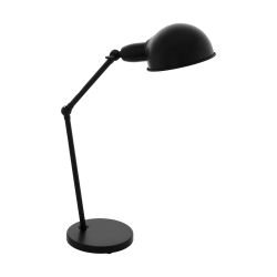 Table Lamp Metallic In Black Color 1x E27 28W EXMOOR Eglo