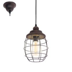 Ceiling Light Bampton 49219 Brown Eglo