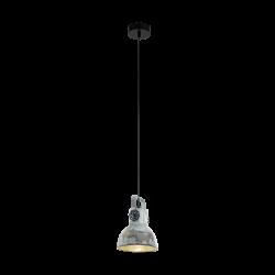 Ceiling Light Eglo Barnstaple Industrial 49619