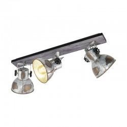 Triple Spotlight Eglo Barnstaple Industrial 49652