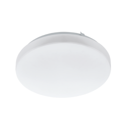 LED Ceiling - Wall Lamp White Round Plastic ø28cm 11.5W 1350lm FRANIA Eglo