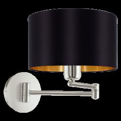 Μεταλλικό Φωτιστικό Τοίχου Σε Διάφορα Χρώματα 1x 60W E27 MASERLO Eglo