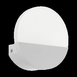 LED Sconce In Satin White or Nickel Matt 4.5W 480lm METRASS Eglo