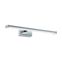 LED Bathroom Sconce In Chrome - Silver 400mm 7.4W 900lm IP44 PANDELLA 1 Eglo