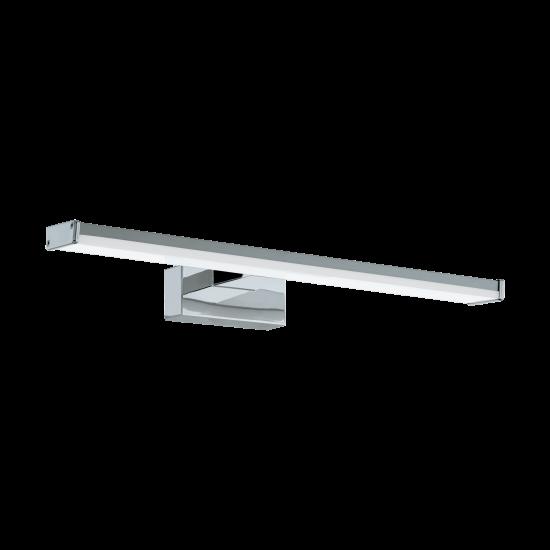 LED Bathroom Sconce In Chrome - Silver 400mm 7.4W 900lm IP44 PANDELLA 1 Eglo
