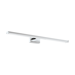 LED Bathroom Sconce In Chrome - Silver 600mm 11W 1350lm IP44 PANDELLA 1 Eglo