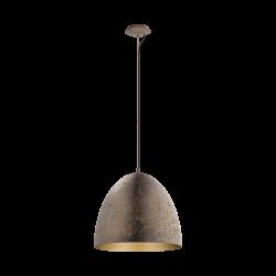 Ceiling Single Light Metalic in Brown - Gold Color Ø40,5cm 1x E27 60W SAFI Eglo