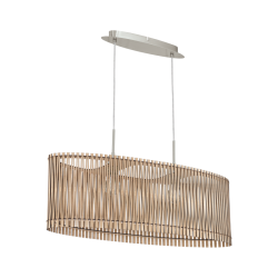 Ceiling Light In Varius Colors Of Wood 2x 60W E27 SENDERO Eglo
