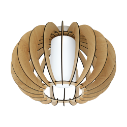 Ceiling Light In Various Colors ø40cm 1x 60W E27 STELLATO Eglo
