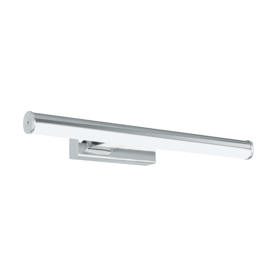 LED Bathroom Sconce In Chrome - White 400mm 7.4W 900lm IP44 VADUMI Eglo