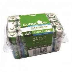 Alkaline Battery 24 Pieces 1,5 V ΑΑ LR6 Eurolamp
