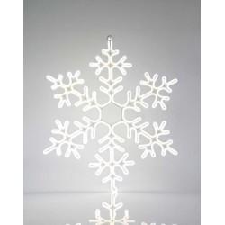 Λευκή Χιονονιφάδα, NEON LED Φωτοσωλήνα 12μ, 75εκ IP44 Magic Christmas