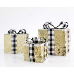 Gift Box With LED - Set, 3xAA IP20 Magic Christmas