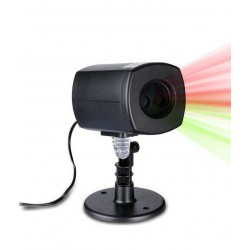 Laser Lights Projector With Photoelectric Cell - 10W IP44 Magic Christmas
