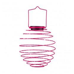 15 LED Solar Spiral Lanterns In Various Colors - 2 Pieces EZSOLAR