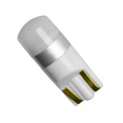 Λαμπτήρας LED T10 12V Με 1 SMD 3030 Ψυχρό Λευκό 6000K GloboStar